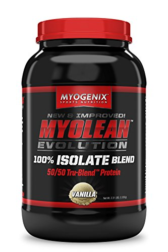 Mass Meal Vanilla Cream (Myogenix Myolean Evolution Isolate Powder, Vanilla Cream, 2.31 Pound)