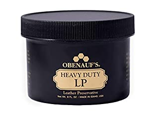 Obenauf's Heavy Duty LP Leather Conditioner Natural Oil Beeswax Formula (8oz) (B0002X520S) | Amazon price tracker / tracking, Amazon price history charts, Amazon price watches, Amazon price drop alerts