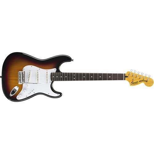 Squier by Fender Vintage Modified Stratocaster Electric Guitar - 3-Color Sunburst - Rosewood - Stratocaster Vintage Neck
