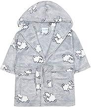 Minikidz Babies Lamb Embossed Snuggle Dressing Gown