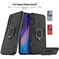 Capa Case Capinha Armor Ring Xiaomi Redmi Note 8t (CAPA ANTI IMPACTO RING PRETA)