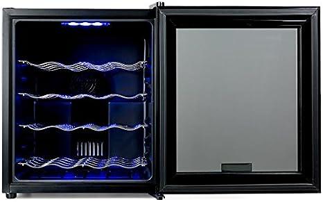 KLARSTEIN MKS-1 Nevera Vinoteca - Capacidad 48 litros, 16 Botellas ...
