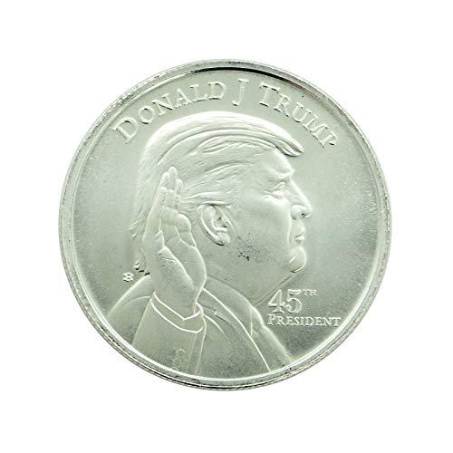 1 - Donald J. Trump Memorabilia Silver Round - Proof