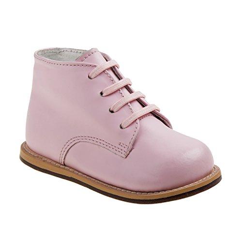 (Josmo 2-8 Plain Walking Shoes (Pink, 5))