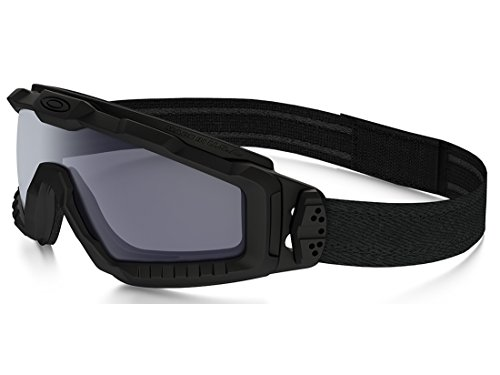 OAKLEY SI BALLISTIC HALO IN BLACK WITH GREY SKU: - Work Oakley Sunglasses