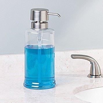 Cup Dispenser Mouthwash Dispenser Pump Set of mDesign Bathroom Accessory Set