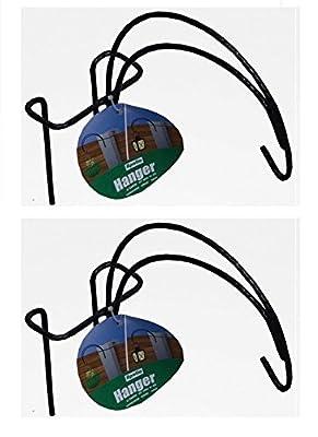 2 X Apollo Garden Fence Hangers Brackets for Hanging Baskets Lanterns
