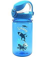 Nalgene Kids OTF Chomp Bottle (Slate/Blue, 12-Ounce)