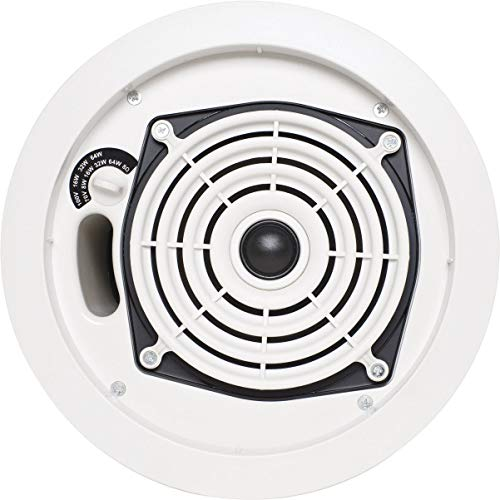 """SpeakerCraft SC Pro Commercial 8"""" In-Ceiling Speaker (Each) White SPS42855"""