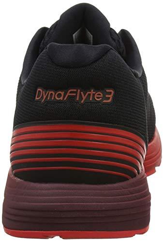Running 002 Alert red Asics black Dynaflyte 3 Nero Scarpe Uomo Da PxqwfaqgIp