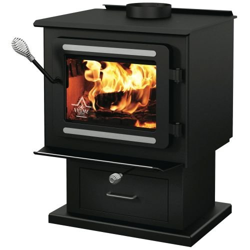SBI INTL FL023W XVR-II SE EPA WOOD BURNING STOVE (1 PER CASE) by SBI INTL