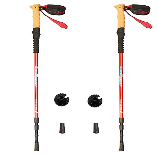 LotFancy Trekking Poles Ultralight Included
