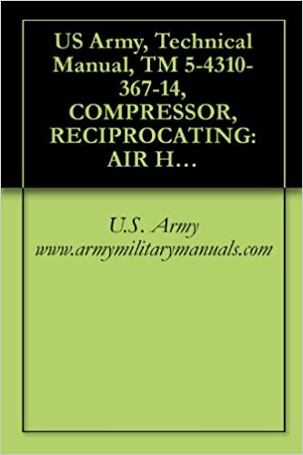 US Army, Technical Manual, TM 5-4310-367-14, COMPRESSOR, RECIPROCATING: AIR HANDTRUCK MOUNTED, GASOLINE ENGINE DRIVEN, (C&H DISTRIBUTORS MODEL 20-905 8 ... military manauals, special forces