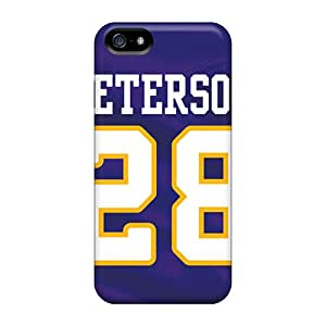 JonathanMaedel Iphone 5/5s Shock-Absorbing Hard Cell-phone Case Allow Personal Design High-definition Minnesota Vikings Pictures [Nep15190oFUQ]