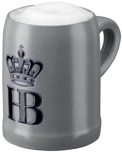 Hofbrauhaus Munchen Logo Salt Glazed German Beer Mug .5 L Munich -