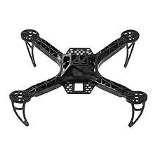 SODIAL(R) Mini 250mm FPV250 Quad Copter FPV MultiRotor QAV Multicopter Frame Kit Black