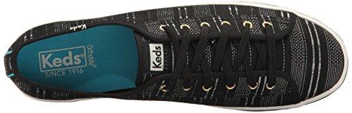 Up Bassa Sneaker Pizzo Kickstart Di Nero Top Moda Keds Donne 4Fxnnf