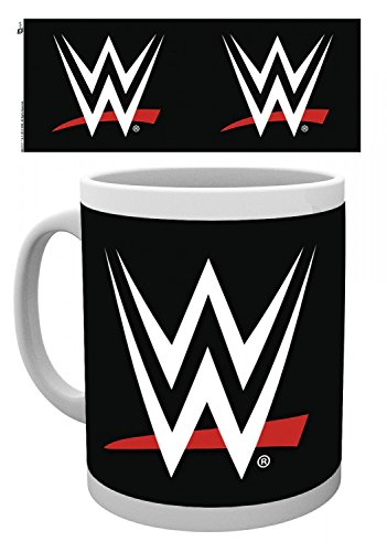 Set: Wrestling, WWE, Logo Photo Coffee Mug (4x3 inches) A...