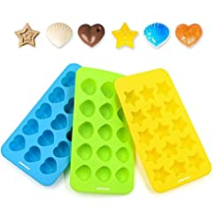 Candy Chocolate Molds Silicone Ice Cube ...