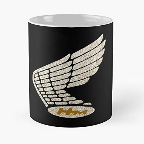 (Vintage Japanese Motorcycle Goldwing - Coffee Mugs Best Gift Unique Ceramic Novelty Cup)