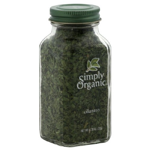 Simply Organic Cilantro, .78-Ounce (Pack of 6)