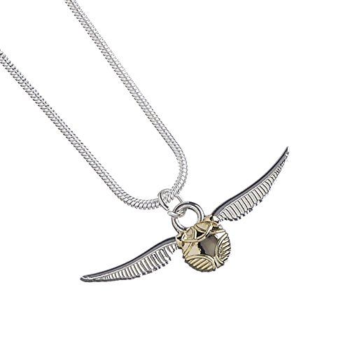 HARRY POTTER Official Licensed Jewelry Themed Necklaces (Golden Snitch)