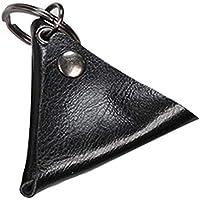 SODIAL Acoustic Guitar Picks Pack Electric Guitar Pick Storage Bag Shrapnel Box Key Ring Accessories(Black)