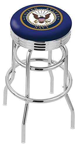 "US Military United States Navy 30"" Bar Stool"