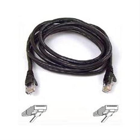 Imperial 49.21ft Cable Length Metric 15m Connector Patch Lead Slim CAT 6 Black 15M Cable Length
