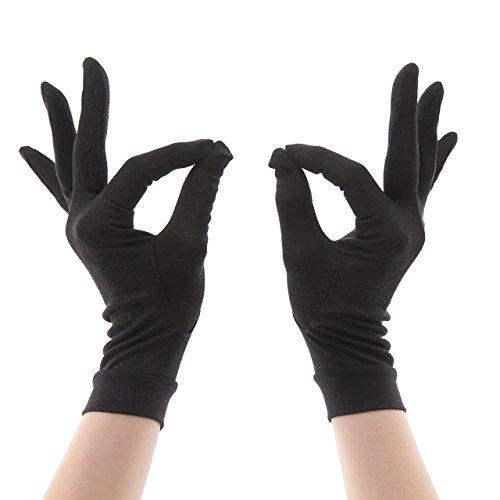 herring (へリング) 紫外線カット シルク手袋 手荒れ 手袋 おやすみ 保湿ケア UVカット シルク100% レディース 全4色