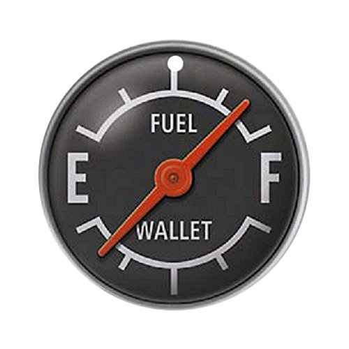 CafePress - Gas Gauge Ornament (Round) - Round Holiday Christmas Ornament (First Ornament Car Christmas)