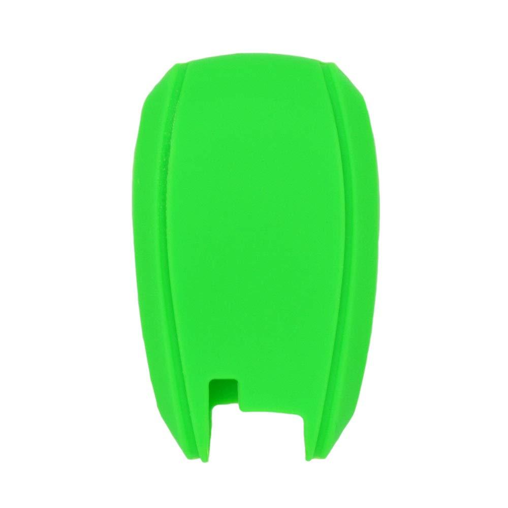 SEGADEN Silicone Cover Protector Case Skin Jacket fit for SUBARU 3 Button Smart Remote Key Fob CV4254 Orange