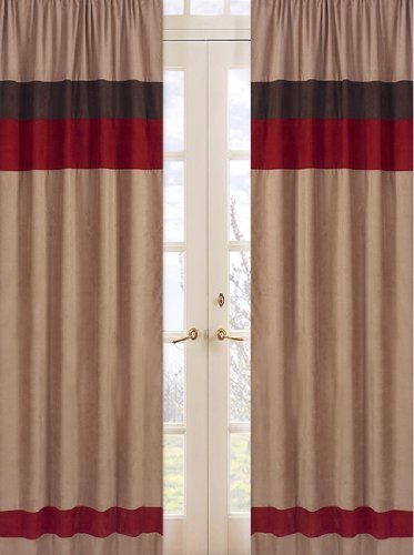 All Star Sports Window Treatment Panels - Set of 2 (Ncaa Embroidery Designs compare prices)