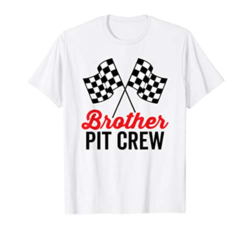 Brother Pit Crew Shirt for Racing Party Costume