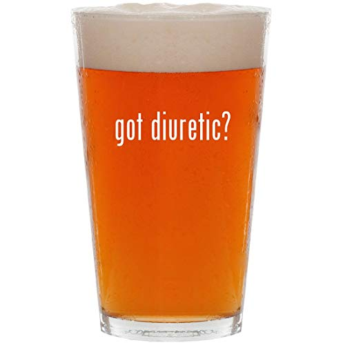 (got diuretic? - 16oz All Purpose Pint Beer Glass)