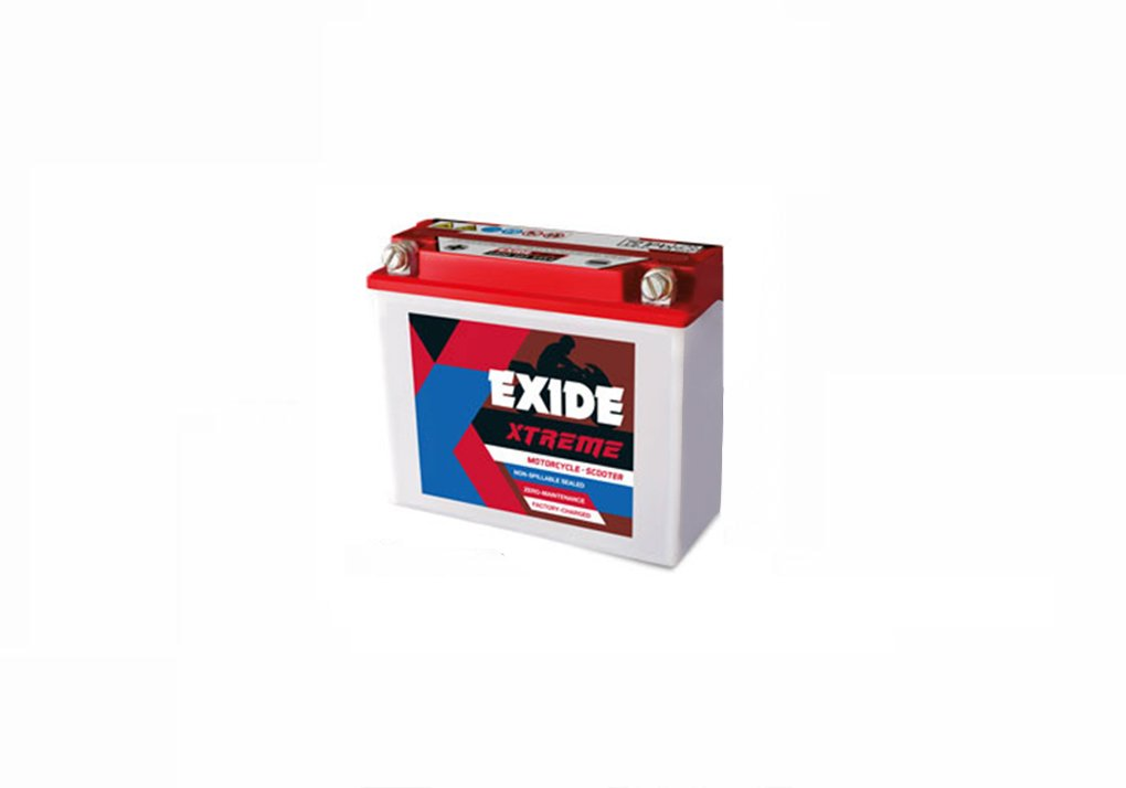 0ae4ac4eb Exide Xtreme 12XR9-B 9AH Bike Battery Bajaj Pulsar 220 Fi DTS-i  Amazon.in   Car   Motorbike