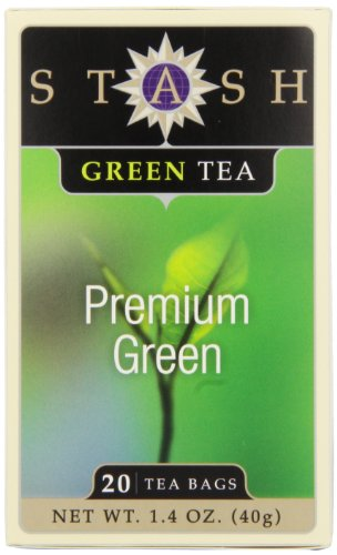Stash Tea Premium Green Tea, 20 Count Tea Bags (Pack of 6)