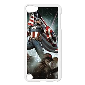 Captain America iPod Touch 5 Case White 8You010532