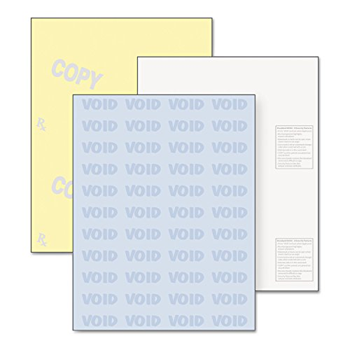 (DocuGard 04544 DocuGard Security Paper 32lbs 8-1/2 x 11 Blue/Canary 500/Ream)