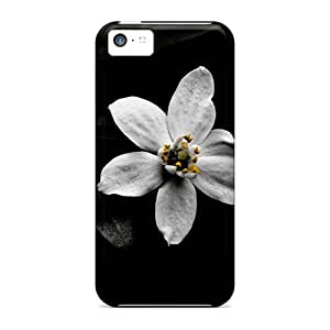 Cute Appearance Covers/EVb29621DXIX Blackflower Cases For Iphone 5c