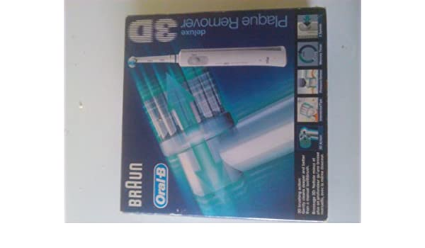 Amazon.com: BRAUN D15525X Oral-B 3D Plaque Remover Toothbrush: Home & Kitchen