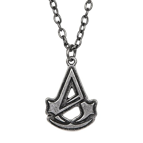 Assassin's Creed Unity Logo Silver Color Necklace