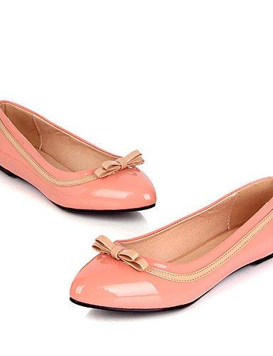 uk6 Zapatos y pink us8 cn39 pink Cuero Rojo Planos Negro red Vestido YYZ Rosa Casual Tac¨®n uk6 de Plano mujer Patentado us8 eu39 Oficina us7 5 cn38 uk5 cn39 Bailarina Comfort eu39 Trabajo eu38 5 ZQ 5pvHRW