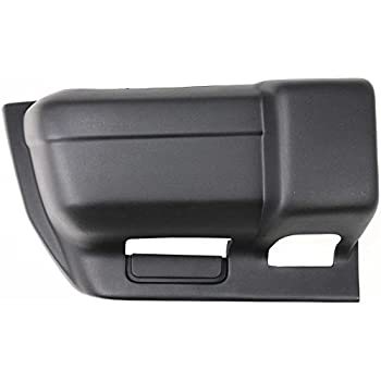 Black Passengers RH Rear Bumper End for 1997-2001 Jeep Cherokee NEW Smooth