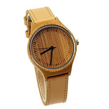 GDS La nueva madera relojes Unisex / natural madera / bambú / reloj de pulsera /