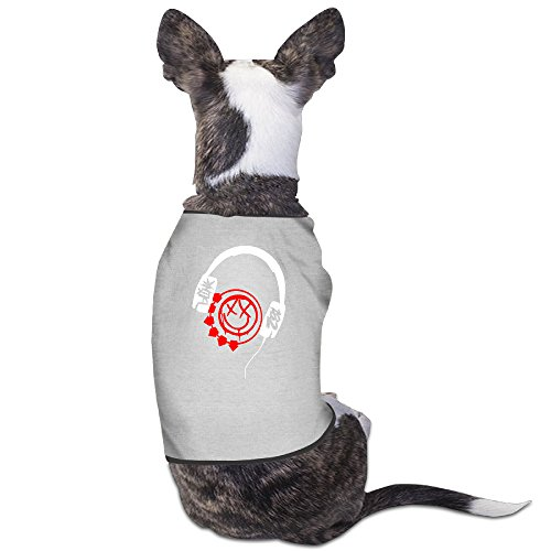 Blink 182 Logo Dog Costume Pet Supplies ()