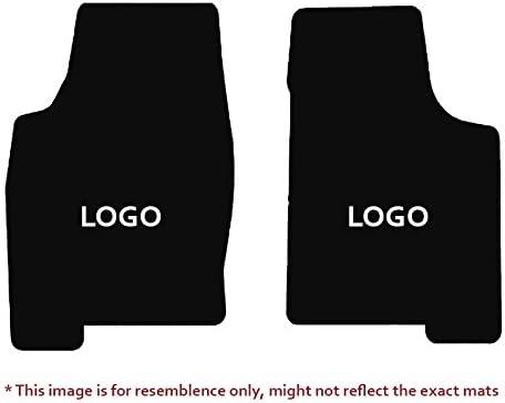 Coverking Custom Fit Front and Rear Floor Mats for Select Oldsmobile Models Black CFMBX1OL9224 Nylon Carpet