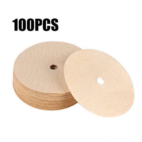 100Pcs Disposal Coffee Filter Pot of Paper Coffee Maker for Vietnam Dripper Filtration