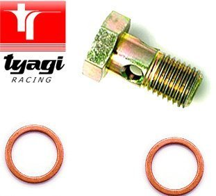 Tyagi Racing Banjo Bolts 12 x 1 Banjo Bolt M12