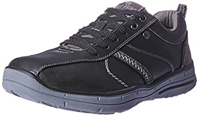 Wild Rhino Men's Hayden Trainers Shoes, Black, 7 AU (41 EU)